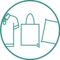 1.เลือกรูปแบบของกระเป๋าผ้า